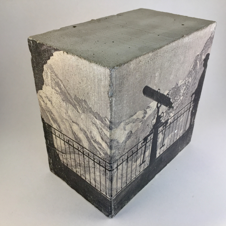 fotobeton wandw rfel 15x15x9 fernrohr beton en. Black Bedroom Furniture Sets. Home Design Ideas