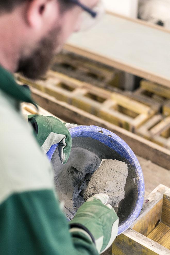 Atelierbesuch Beton-en